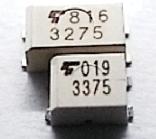 小型光继电器产品相片: TLP3375, TLP3275.