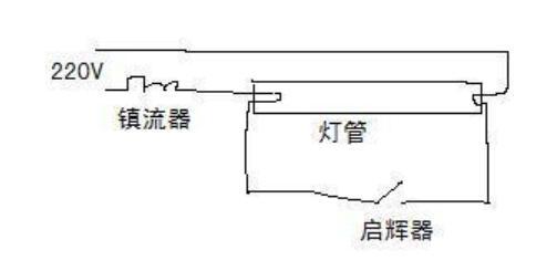 电感镇流器的原理_电感镇流器接线图