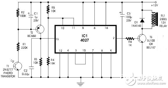 cd4027中文材料汇总(cd4027引脚图及功用_作业原理及运用电路)