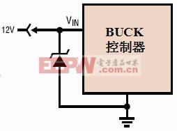 图2:输入TVS 维护电路